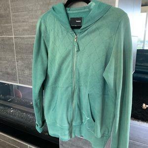 Green Hurley sweatshirt